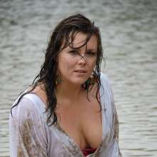 Fetishlovers: 30 free samples here of Chubby Danielle in 6 hot outfits, soaking wet!