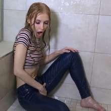 masturbieren in nassen jeans fetisch